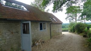 Modern or contemporary barn conversion