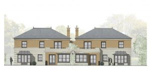 Plans submitted and approved for new build in Sussex