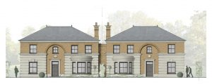 Planning Permission Granted for two new build family homes in Ardingly, West Sussex