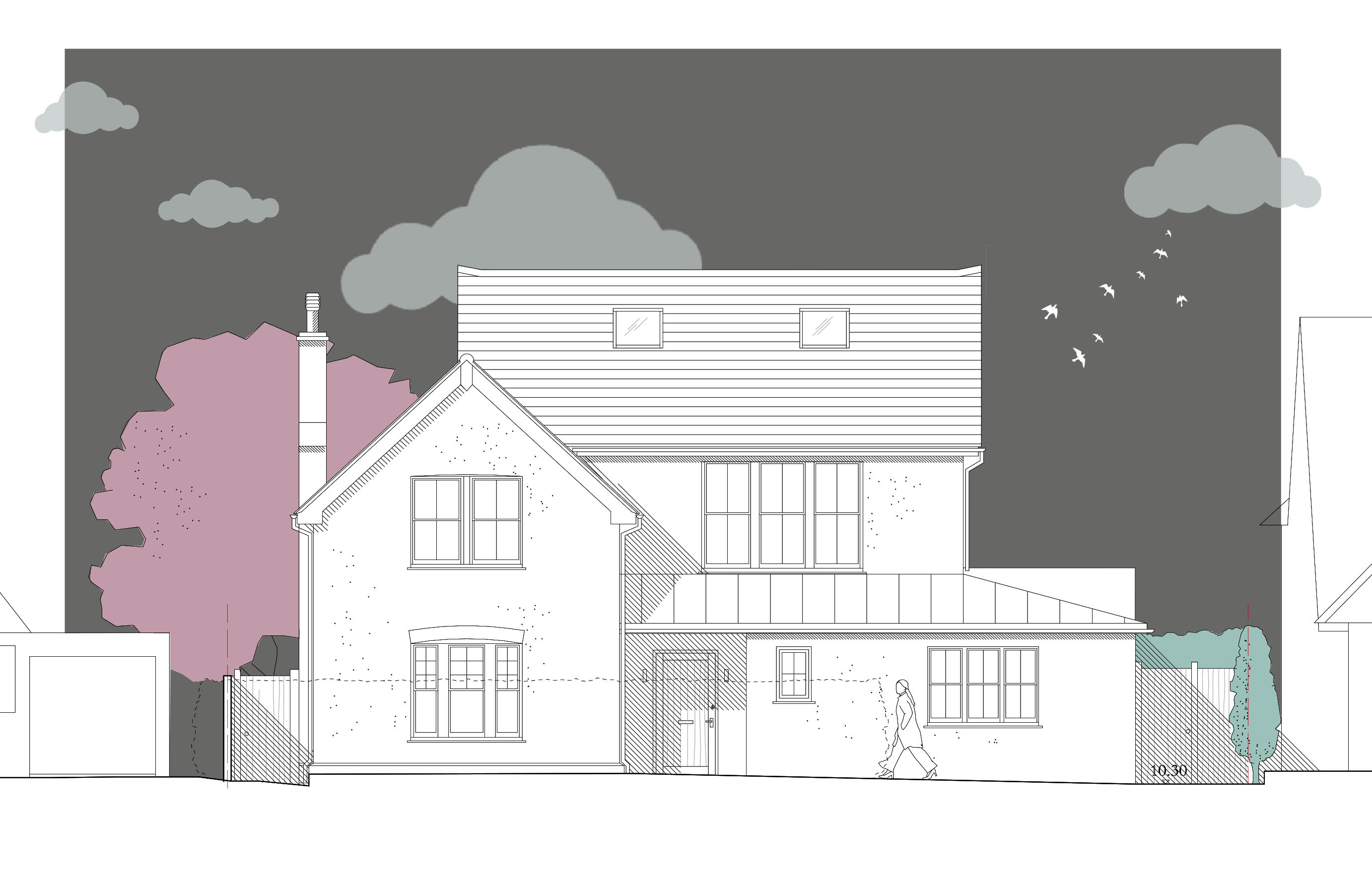 Planning permission for wheelchair accessible home barnham