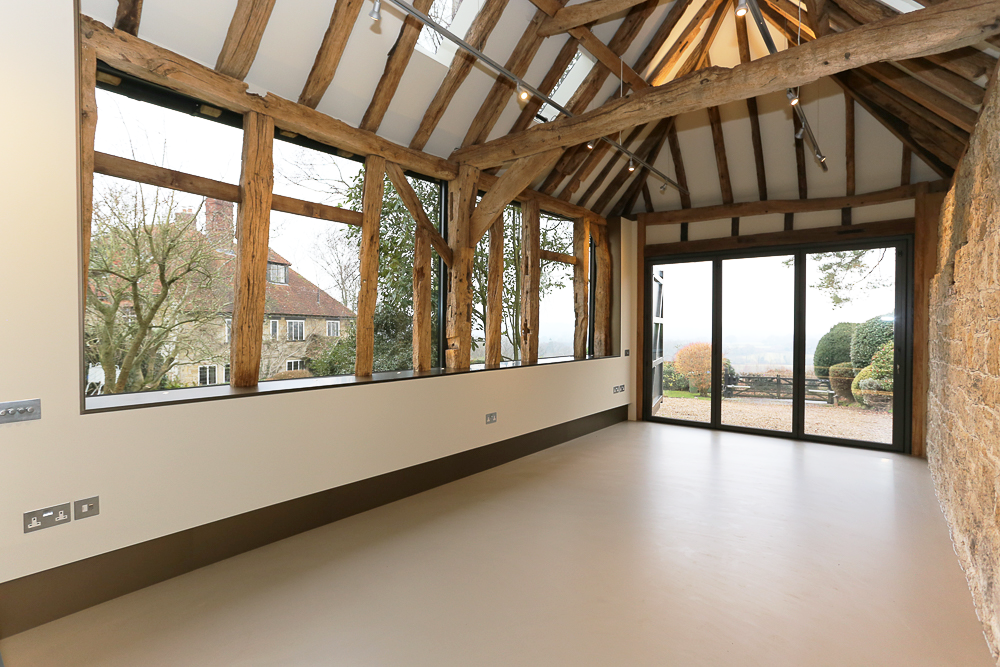 After barn conversion