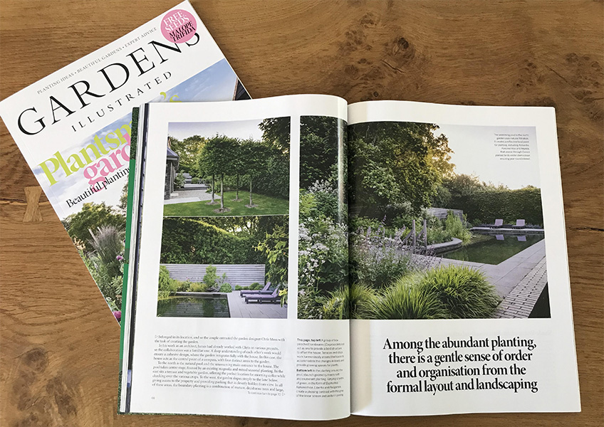 Eight page feature in Gardens Illustrated