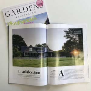 South Downs House featured in Gardens Illustrated photographed by Jason Ingram
