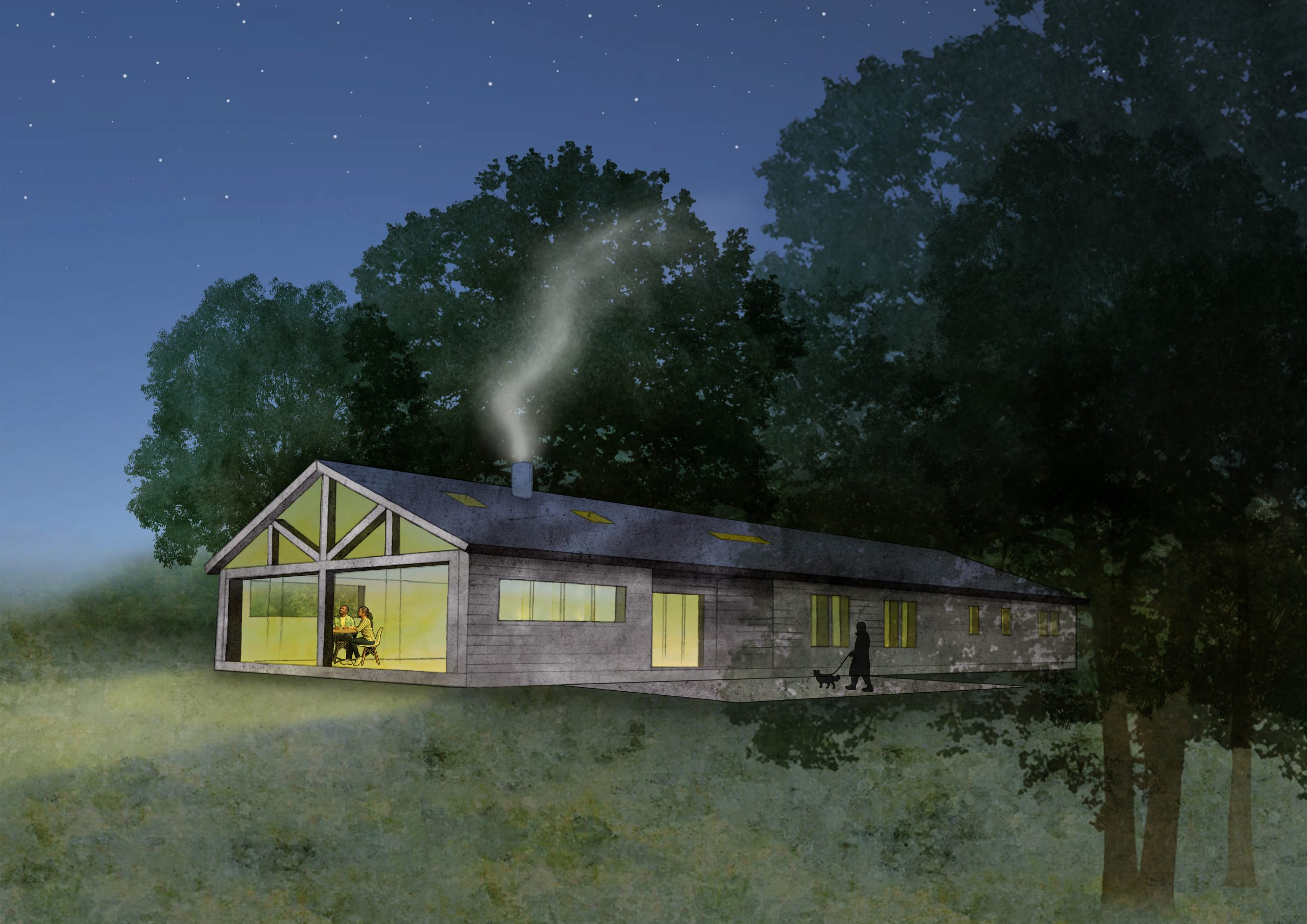 Planning Permission Granted for a New Countryside House
