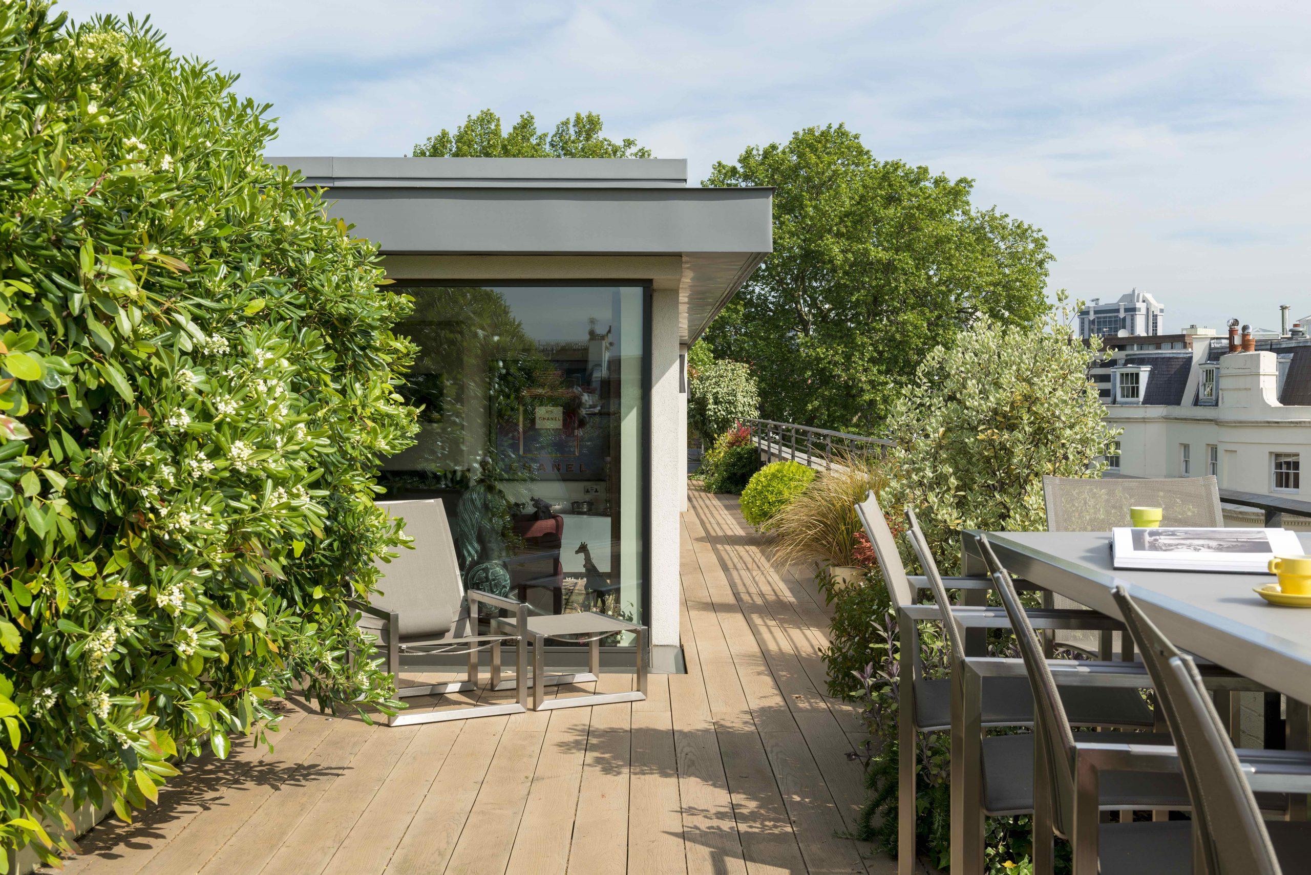 HPS roof terrace