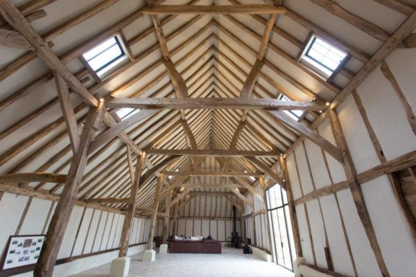 03 Barn Refurb int roof