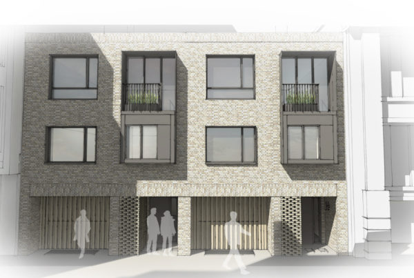 Rose and Crown Yard Elevation